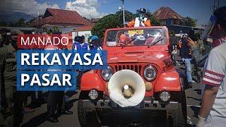 Semua Pasar di Manado akan Direkayasa Ganjil Genap untuk Cegah Covid-19, Wali Kota Ungkap Aturannya