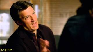 "Castle 6x14 ""Dressed To Kill"" Castle & Beckett, Nikita Theories (HD)"