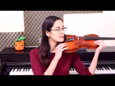 Como utilizar el cojín del violin