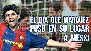 Conoce el día que Rafa Márquez REGAÑÓ a Leo Messi, Discutieron y Guardiola Tuvo Que Calmarlo