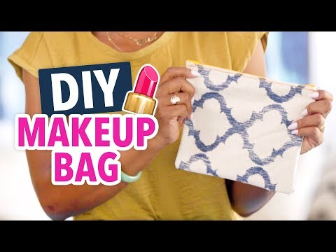 DIY Makeup Bag - Easy Beginner's Sewing Project! - HGTV Handmade