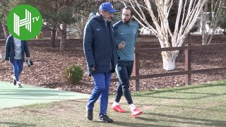 Maurizio Sarri Leads Chelsea Training Amid Sack Rumours