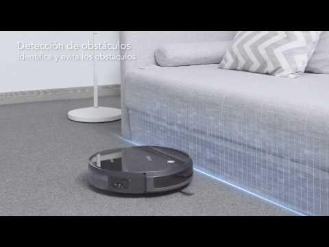 Robot aspirador DEEBOT 601 sistematico suelos duros Ecovacs