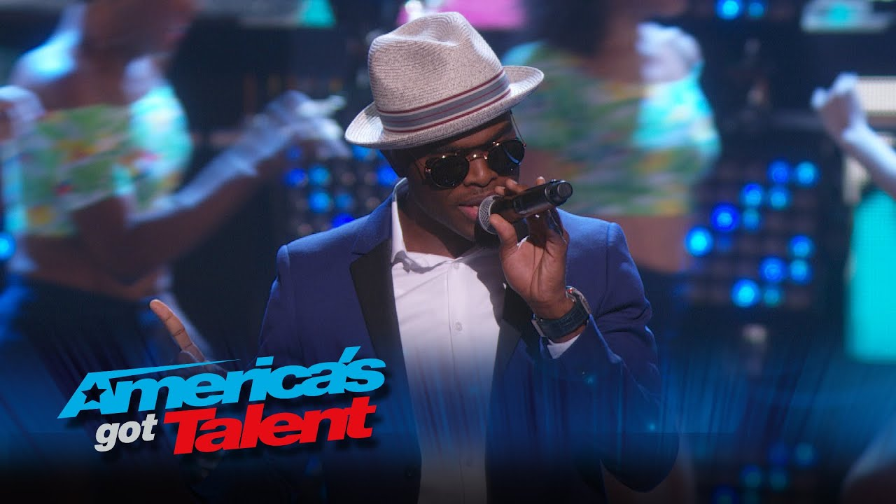 OMI: Chart-Topping Singer Performs «Cheerleader» – America's Got Talent 2015 #AGT