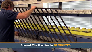 Assemble Aluminum Railing in Minutes with the UltraLox Interlocking™ Machine