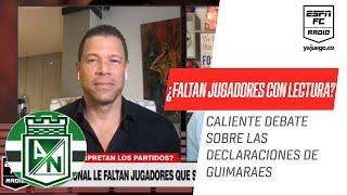 Intenso debate entre #Córdoba y #Valenciano por declaraciones de Alexandre #Guimarães