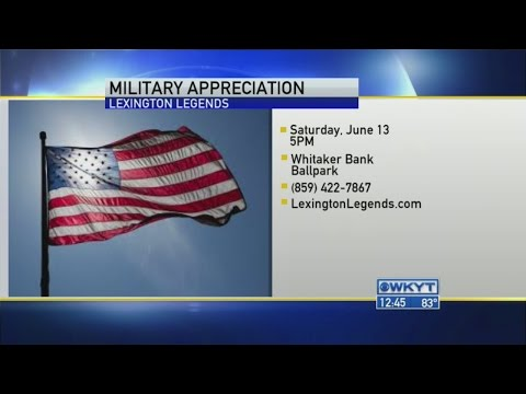 Lexington Legends - Military Appreciation Night