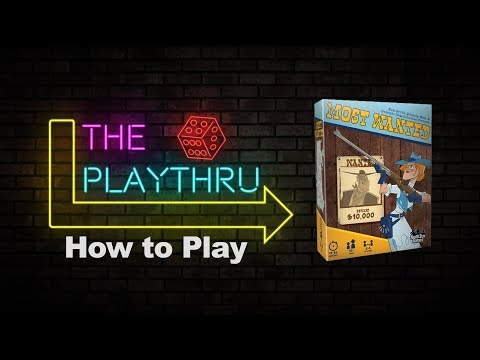 How to play Most Wanted   The PlayThru