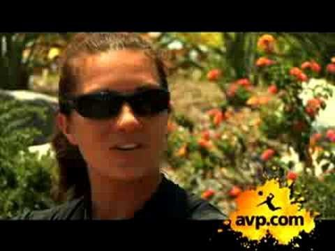 Misty May-Treanor Interview in Long Beach
