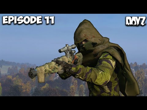Sniping Against Geared Squads! DayZ Deer Isle - Episode 11