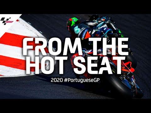 ライダーのシートポジションから見る大迫力映像 MotoGP ポルトガルGP