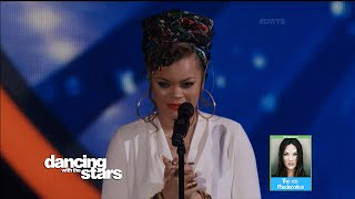 Doug Flutie & Karina w/ Andra Day Dancing with the Stars Performance | LIVE 4-4-16