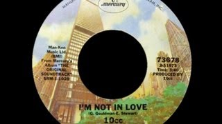 10cc ~ I'm Not In Love 1975 Disco Purrfection Version
