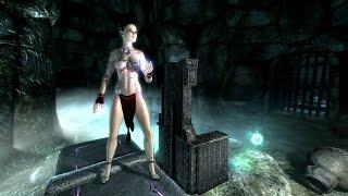 Skyrim Redone: ** Ритуальный Комплект Одежды ** (Маг #15)
