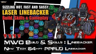 [BRxV] MWO Build  Skills : Large Alpha LaserVomit Linebacker