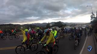 Miniatura Video Ciclopaseo Bogotá - Villavicencio en el marco del Foro Nacional de la Bicicleta