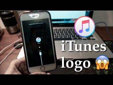 Cara mengatasi iphone stuck di logo iTunes