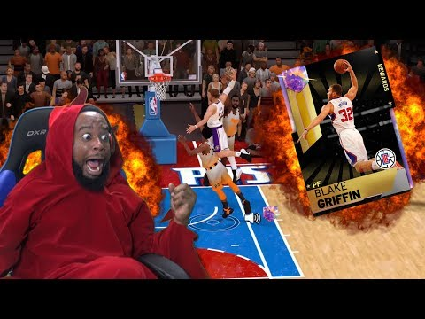 YOU WONT BELIEVE WHAT GALAXY OPAL BLAKE GRIFFIN DID! NBA 2K19