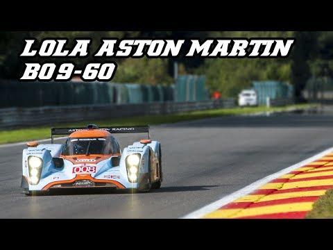 Lola Aston Martin DBR1 B09/60 - howling V12 at Spa