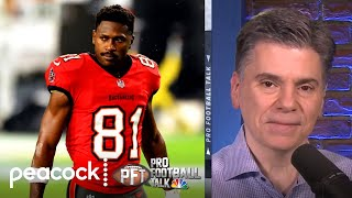 Antonio Brown settles civil lawsuit | Pro Football Talk | NBC Sports