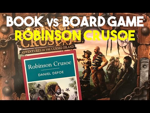 Book to Game: Robinson Crusoe Review