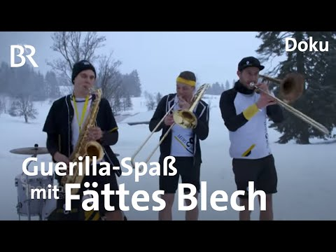 Fättes Blech: Guerilla-Konzerte in Oberstaufen | Heimatrauschen | Doku | BR