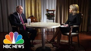 Confronting Russian President Vladimir Putin, Part 2   Megyn Kelly   NBC News