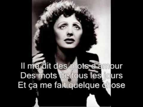 La Vie En Rose (1946) (Song) by Edith Piaf
