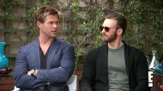 Chris Hemsworth Will Be Chris Evans Matchmaker - E! Interview