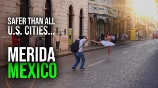This City In Mexico Is SAFER Than All US Cities! | Exploring Merida