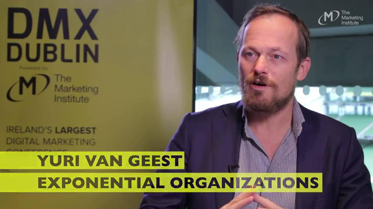 Yuri Van Geest, Exponential Organisations - Interview @ DMX Dublin 2016