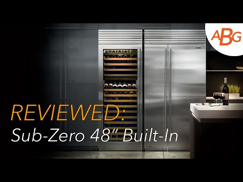 VIDEO REVIEW: Sub-Zero BI-48SID/S/TH – 48″ Built-In Refrigerator