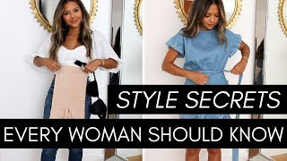 Style Secrets Every Woman Should Know