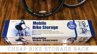 Mobile 6 Bike Storage Rack From Harbor Freight - Item 61231 - $37