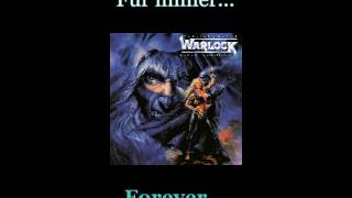 Warlock - Für Immer - Lyrics / English Subtitles (Nwobhm) Traducida