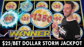 $25/BET Dollar Storm JACKPOT ⚡ Hard Rock Casino in Tulsa OK