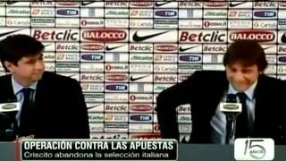 El Arreglo De Partidos Llega A La Selección Italiana