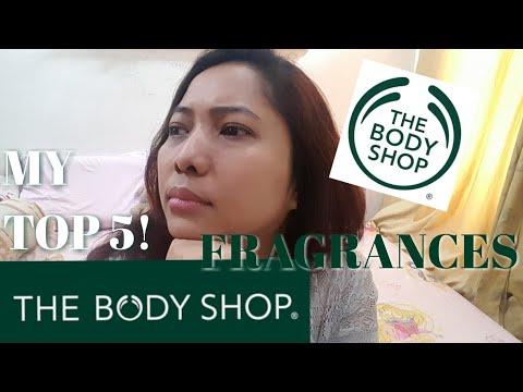MY TOP 5! THE BODY SHOP FRAGRANCES | Glam Dewi