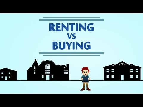 Renting vs Buying a house