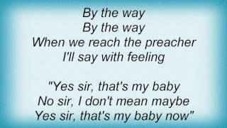 Etta Jones - Yes Sir, That's My Baby Lyrics