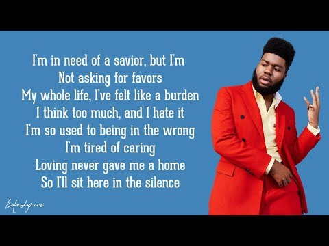 Silence - Marshmello ft. Khalid (Lyrics)