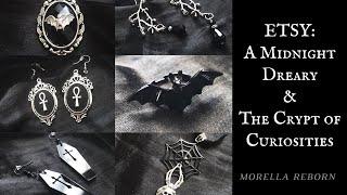 Etsy Haul: Handmade Gothic Jewelry   Morella Reborn