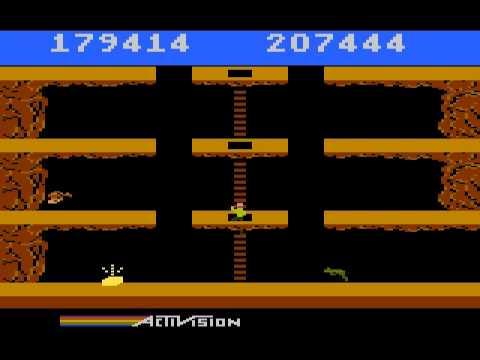 Atari 800 Longplay - Pitfall II (Lost Caverns / Adventurer's Edition)