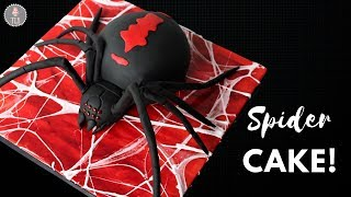 Spider Cake Tutorial! | Halloween Cakes