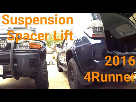 2016 4Runner 2WD/4WD Spacer Lift