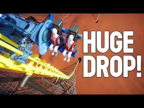 I attempted to build an Insane Coaster in Planet Coaster