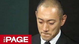 最期に「愛してる」妻・麻央さん死去市川海老蔵さんが会見(2017年6月23日) 動画キャプチャー