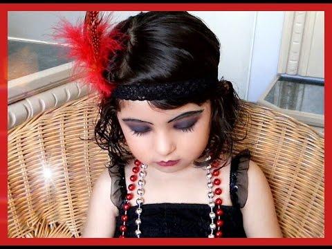 Maquillaje años 20! Ft Mi hija! [ Mieliki Dromundo ]