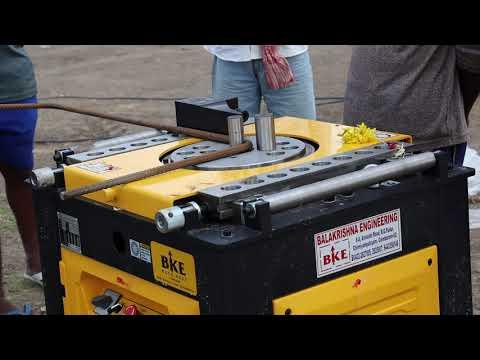 Steel Bar TMT Bending Machine
