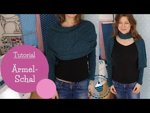 Ärmelschal nähen Tutorial | Bolero-Schal | Tragevarianten | Sleeve Scarf | Nähanleitung | mommymade